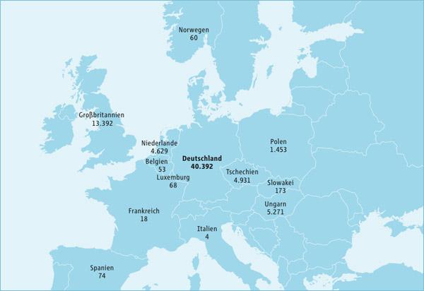 RWE Standorte